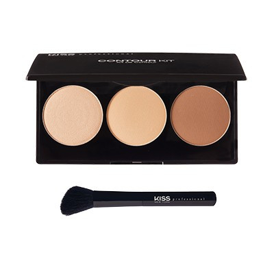 Kiss New York Professional Contour Powder Kit Light